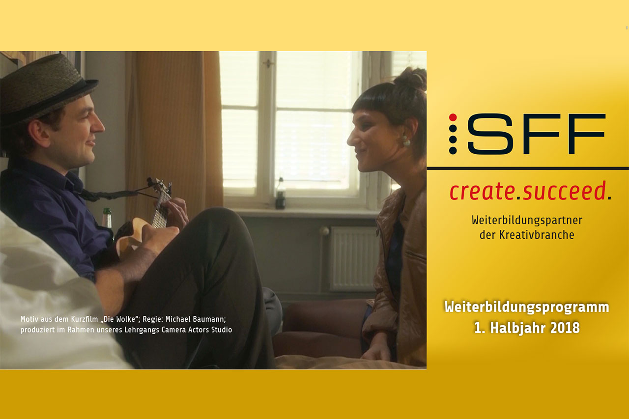 Regieassistent / Producer gefördertes Weiterbildungsprogramm Kurse und Ausbildung